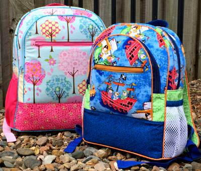 Adventure Time Backpack PDF Pattern by Andrie Designs