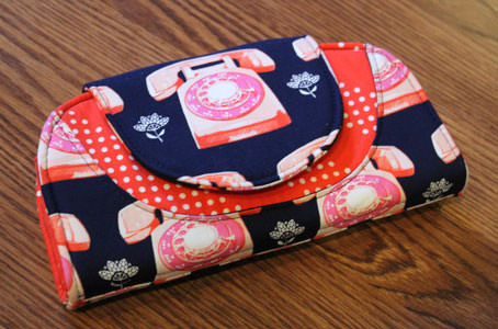 Cleo Everyday Wallet PDF Pattern by Andrie Designs