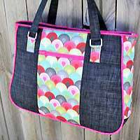 Goin' Uptown Tote PDF Pattern by Andrie Designs