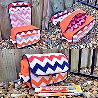 Hand About Toiletry Bag PDF Pattern