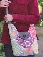 Hexie Hipster Bag Pattern in PDF