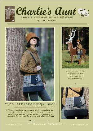 The Attleborough Bag Pattern by Charlie's Aunt