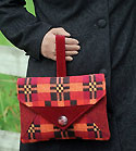 Blakeney Clutch Bag Pattern by Charlies Aunt in PDF