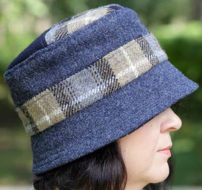 The Heacham Cloche Hat Pattern in PDF