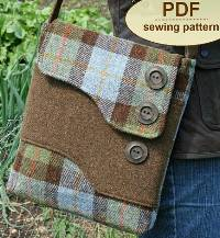 Melford Messenger Bag Pattern in PDF