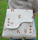 Saxted Green Satchel Bag Pattern in PDF
