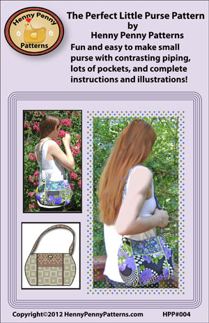 pattern purse. Downloadable version free.