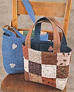 Two Way Tote Pattern in PDF format