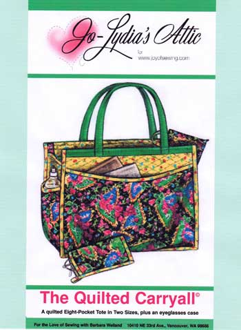 Big Curvy Bag Pattern EBD-1004 - Quilt Patterns, ePatterns
