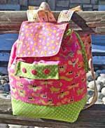 Backpack Adventures Pattern in PDF