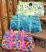 The Big Easy Expanding Tote Pattern by WhistlePig Creek Designs
