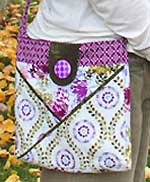 Cross Pocket Bag Pattern in PDF