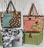 Pockets A Plenty Bag pattern in downloadable format