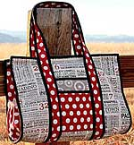 Sweet Retreat Little Sister Weekender Bag pattern in PDF