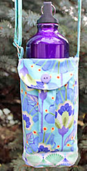 Walker's Water Bottle Sling Pattern by WhistlePig Creek in PDF
