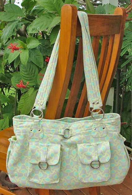 Olivia Handbag pattern by ChrisW Designs