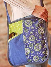 Creative Crossbody Bag Pattern in a downloadable format