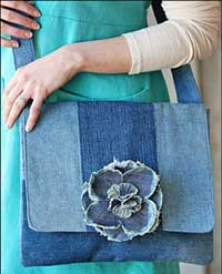 Grab & Go Tote Pattern by Indygo Junction in PDF