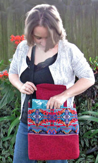 Day Hiker Bag Pattern in PDF by Henny Penny Patterns