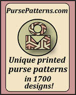 PursePatterns.com - Unique printed purse patterns