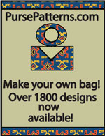 PursePatterns.com - Unique paper purse patterns in a large variety of designs
