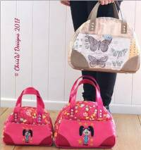 Bowdacious Bowler Bags Pattern in PDF (Easy Street Pattern)