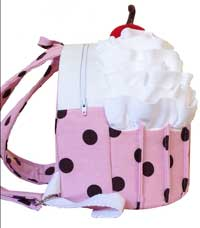 Cozy Cupcake Backpack Pattern by Cozy Nest Designs in PDF