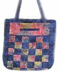 City to Market Tote Pattern by Marlous Designs