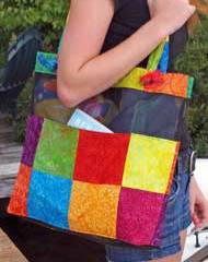 Cabana Mesh Tote Pattern by Marlous Designs