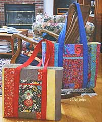 Super Sized Tote Pattern by Marlous Designs