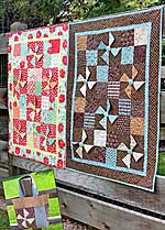 Charming Baby Quilt and Tote in PDF