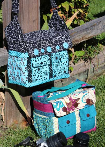 Say Cheese! Camera Bag Pattern in PDF