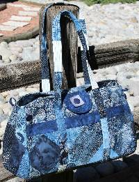 Big Easy Expanding Tote For Charms Pattern by WhistlePig Creek Designs